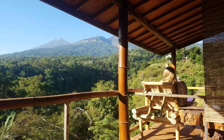 Dragonfly Senaru Lodge Lombok - Standard Deluxe with Mountain View