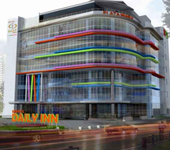 EXTERIOR_BUILDING Daily Inn Hotel Jakarta