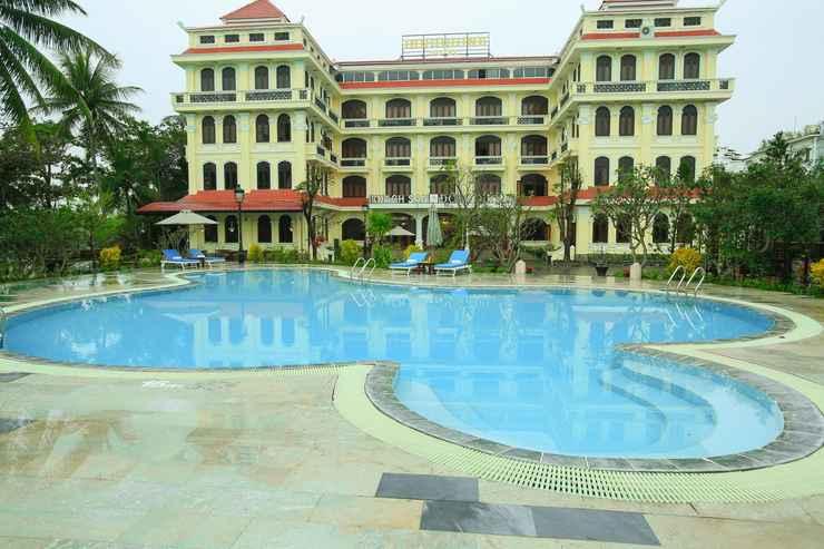 EXTERIOR_BUILDING Khách sạn Lu Na Kim Cương Ven Sông