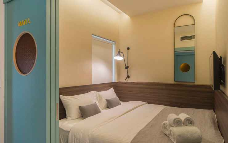 The Great Madras Singapore - The Luxe Mixed Hostel - Shared Bathrooms