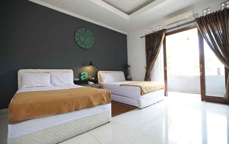 Spacious Room at Limbersa Homestay & Resto Yogyakarta - Moccacino with Shared Bathroom