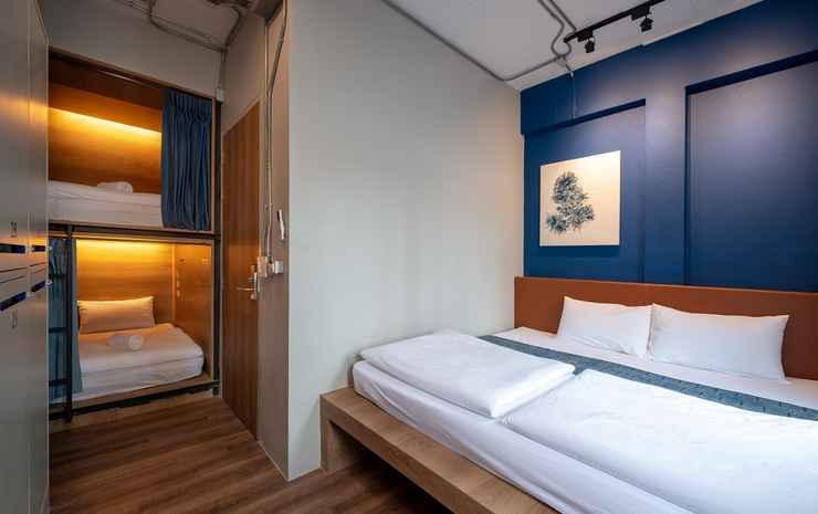 Natee Hostel Bangkok - Family for 4 Shared Bathroom