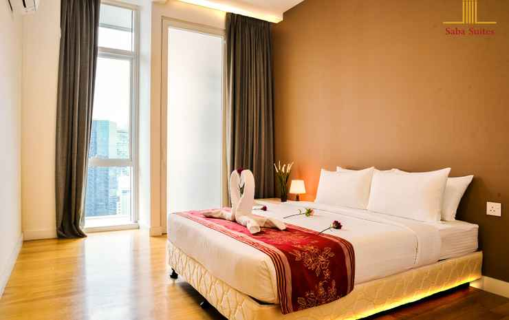 Saba Suites at Platinum KLCC Bukit Bintang Kuala Lumpur Kuala Lumpur - Grand Executive Two Bedroom  Apartment