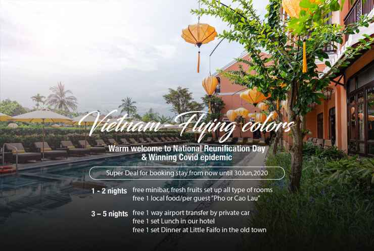 SWIMMING_POOL Allegro Hoi An . A Little Luxury Hotel & Spa
