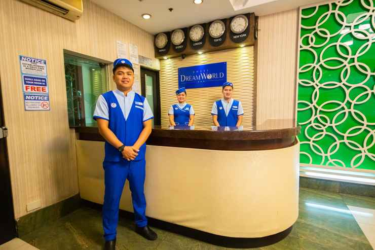 LOBBY Hotel Dream World Araneta Cubao