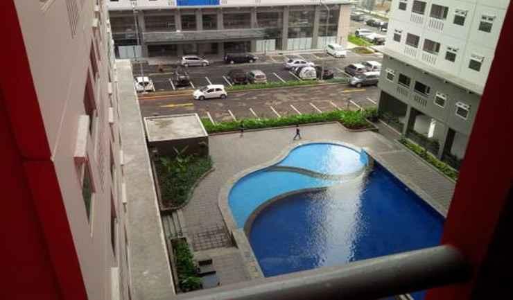 SWIMMING_POOL Green Pramuka Apartment Bogenville Tower