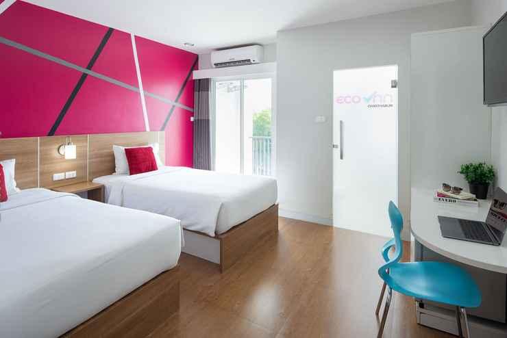 BEDROOM โรงแรมอีโค่ อินน์ ไลท์ จันทบุรี