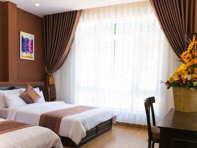 BEDROOM Khách sạn Uyên Phương Đà Lạt