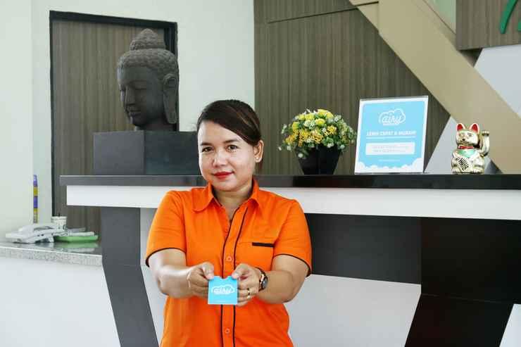 LOBBY Airy Eco Bandara Syamsudin Noor Angkasa 7 Banjarbaru
