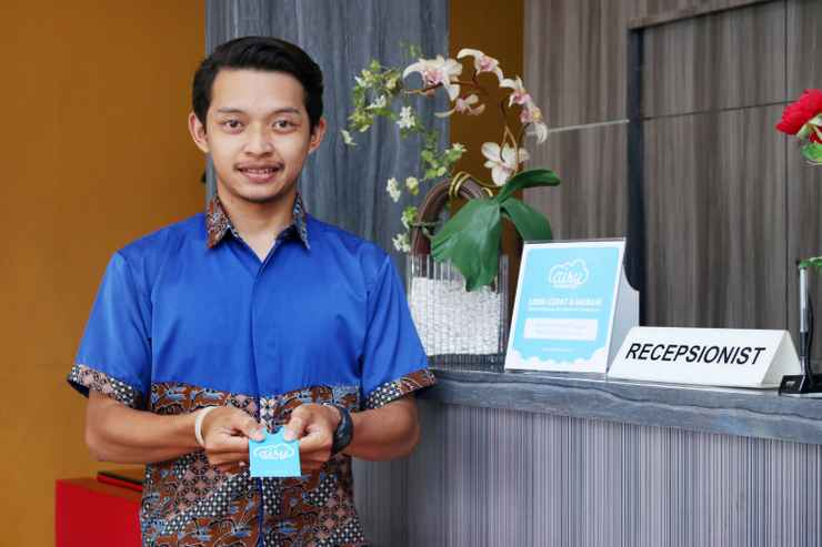 LOBBY Airy Eco Syariah Martapura Ahmad Yani 22 Banjar