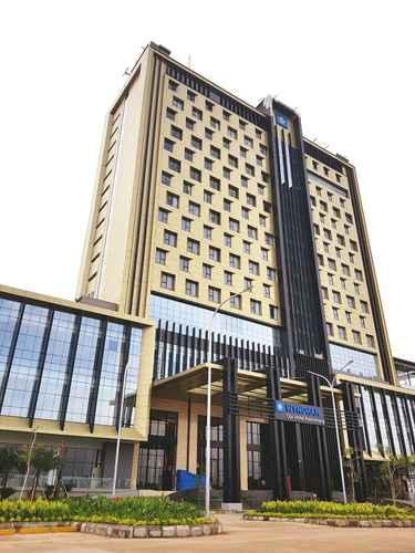 EXTERIOR_BUILDING Wyndham Opi Hotel Palembang