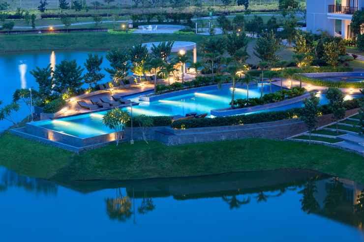 SWIMMING_POOL Hotel Santika Premiere Bandara - Palembang