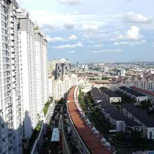 2 BR Penthouse Level Apartment At Mall Of Indonesia (MOI) Gading by Travelio