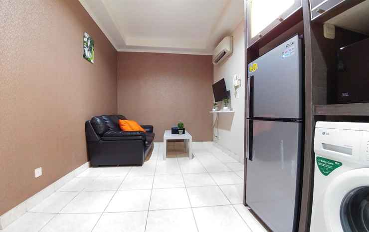 2 BR Penthouse Level Apartment At Mall Of Indonesia (MOI) Gading by Travelio Jakarta -
