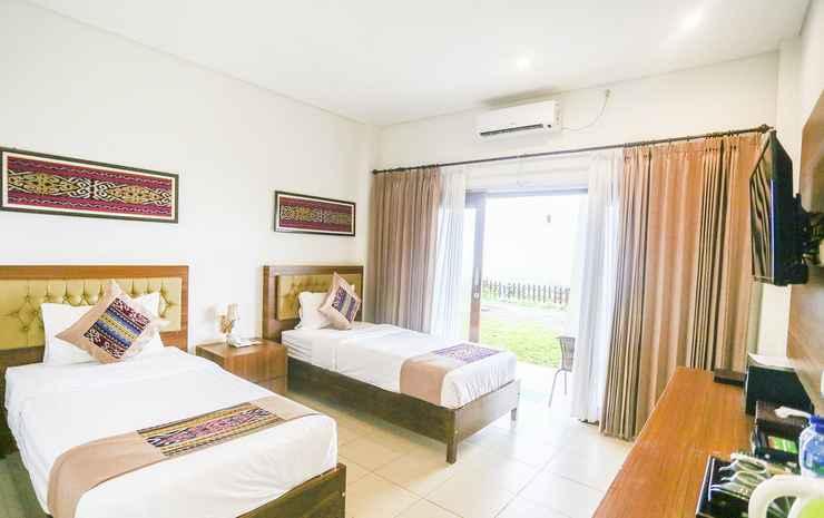 La Cecile Hotel and Cafe Komodo Manggarai Barat - Deluxe Twin Ocean View