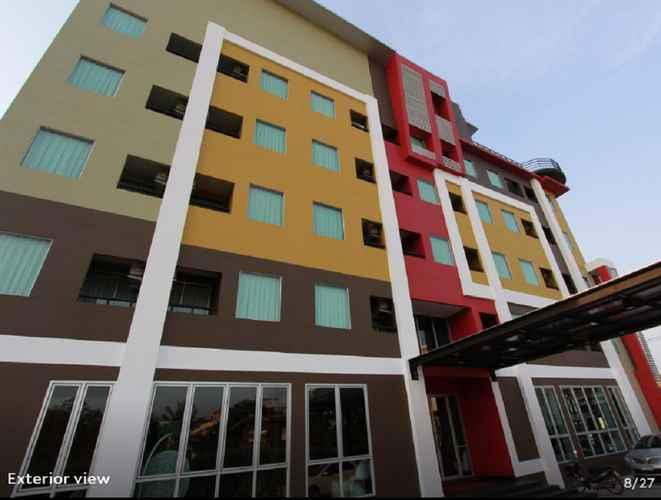 EXTERIOR_BUILDING โรงแรม เทรนดี้