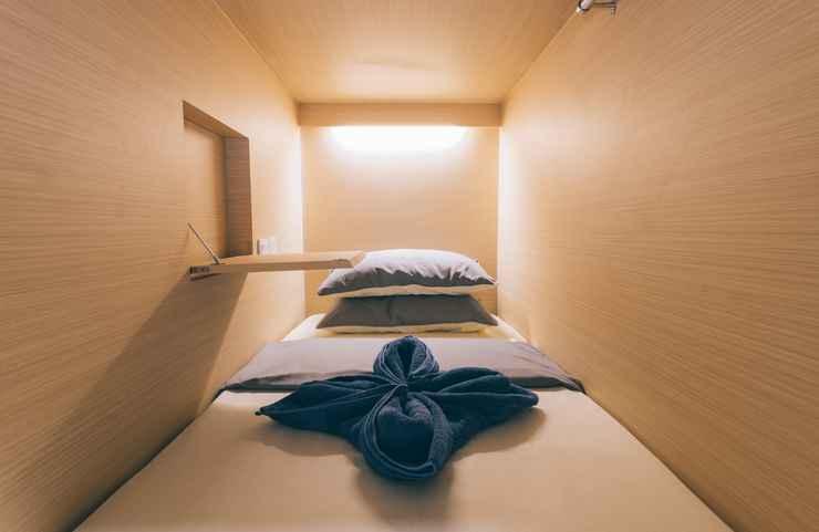 BEDROOM Wanderloft Capsule Hostel