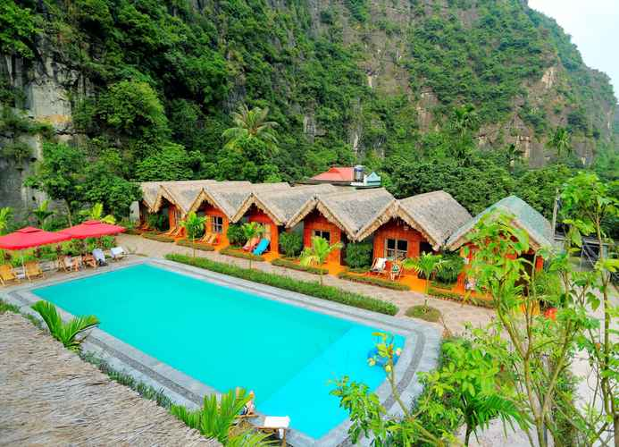 SWIMMING_POOL Tam Coc Valley Bungalow
