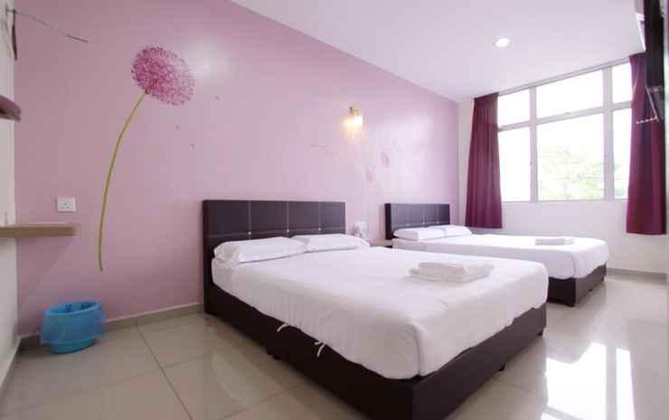 Max Inn Hotel Johor - Deluxe Queen Room with Queen Beds