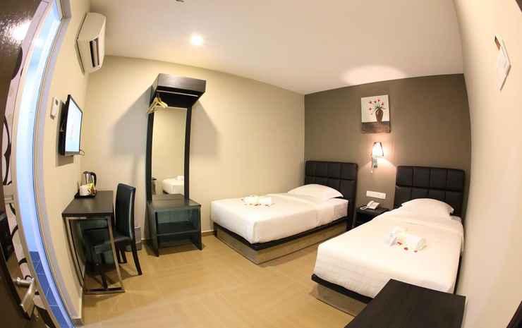 GL Hotel Kluang Johor - Kamar Twin Deluks