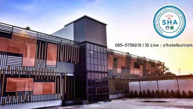 EXTERIOR_BUILDING เอส วัน ซิตี้ โฮเทล บุรีรัมย์