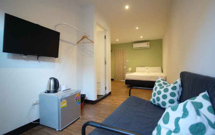 Resort V MRT Huai Khwang Bangkok - Standard Double Room