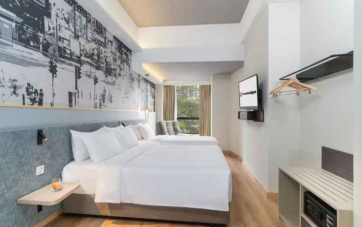 Travelodge Bukit Bintang Kuala Lumpur - Deluxe Queen & Single bed