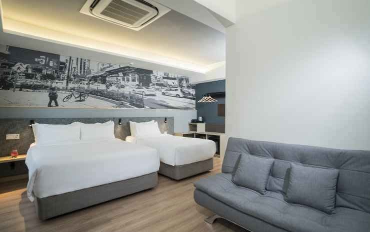 Travelodge Bukit Bintang Kuala Lumpur - Family Queen & Single bed - flash room only