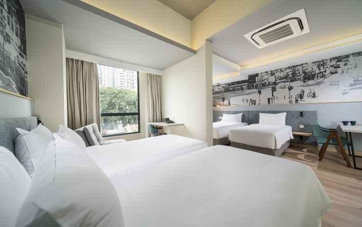 Travelodge Bukit Bintang Kuala Lumpur - Family Quadruple - flash room only