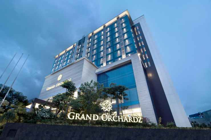 EXTERIOR_BUILDING Grand Orchardz Hotel Kemayoran
