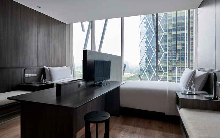 Alila SCBD Jakarta Jakarta - Studio Twin Flexible Rate Room Only