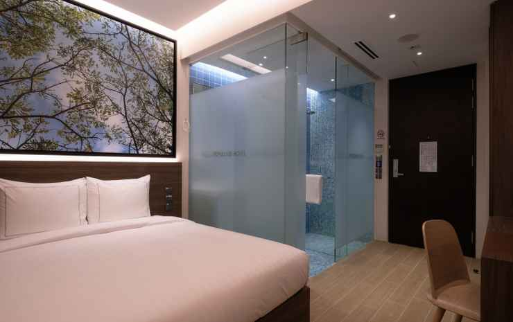 Populous Hotel @ Bugis Singapore - Deluxe Double or Twin Room (No Window)