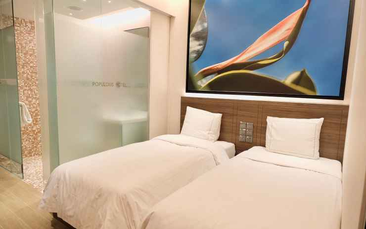 Populous Hotel Singapore - Deluxe Double or Twin Room (No Window)