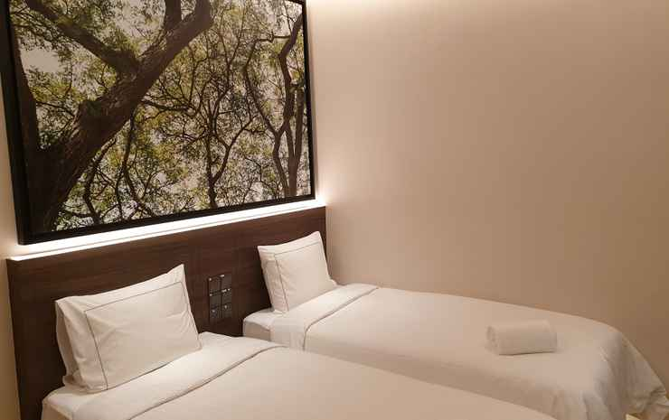 Populous Hotel Singapore - Standard Twin Room (No Window)
