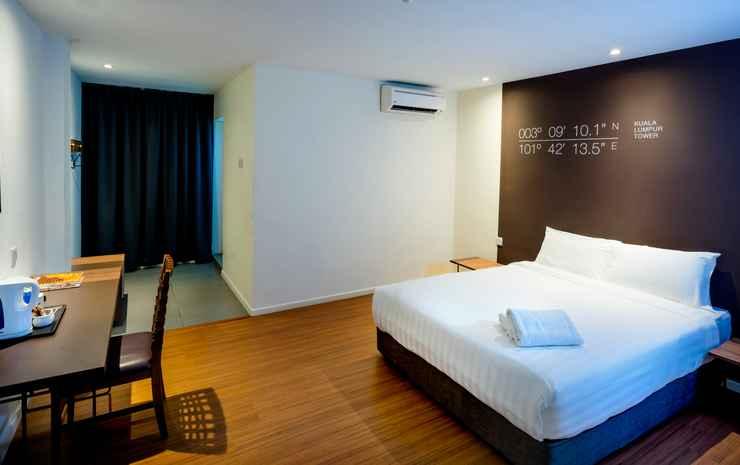 H Boutique Hotel Xplorer Maluri Cheras Kuala Lumpur - Deluxe Queen Room