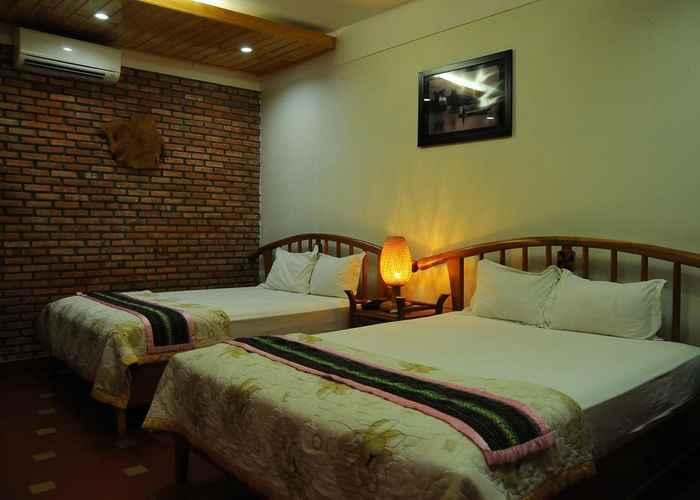 BEDROOM Green Hotel Kontum