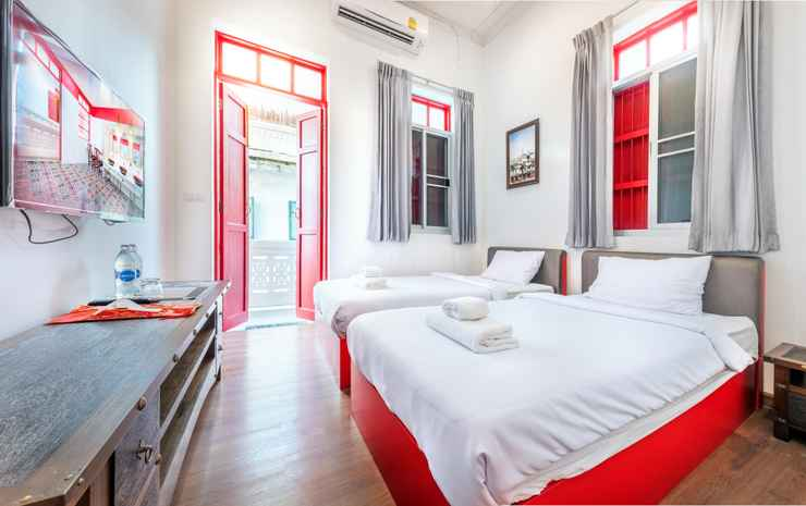 AMA HOSTEL BANGKOK Bangkok - Deluxe Twin Bedroom With Private Bathroom