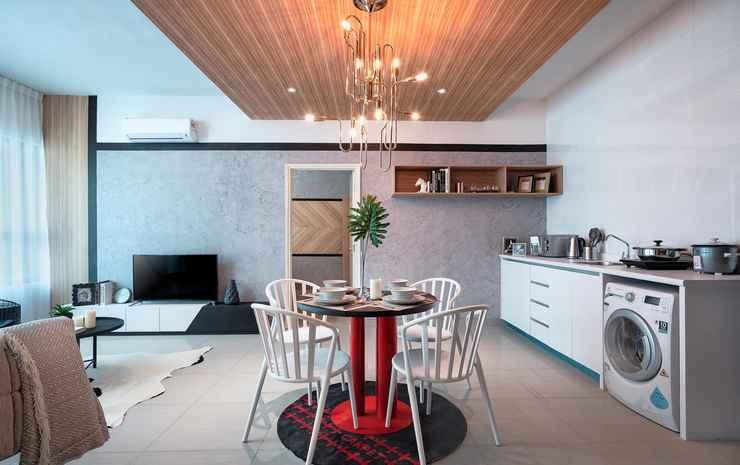 Arte Plus by Afflexia Serviced Suites KLCC Kuala Lumpur - Premier Suite Two-Bedroom (Non Refundable)