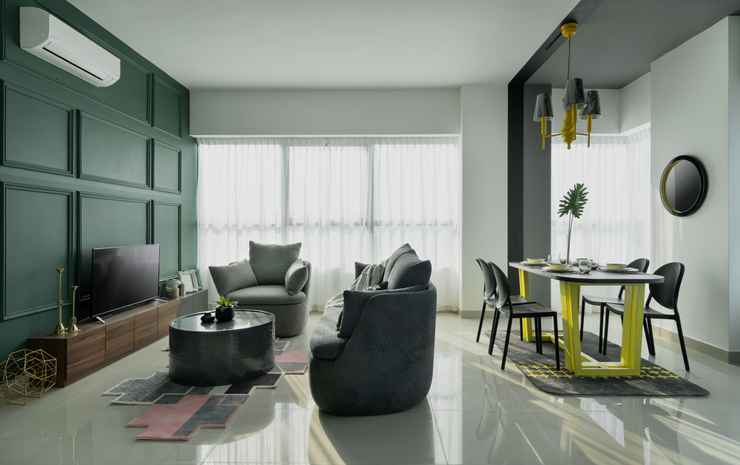 Arte Plus by Afflexia Serviced Suites KLCC Kuala Lumpur - Master Suite Three-Bedroom (Non Refundable)