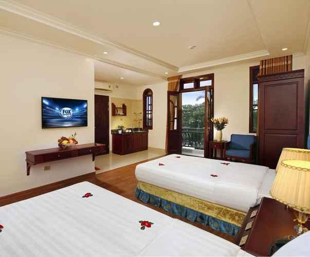BEDROOM Hanoi Rosden Hotel & Travel