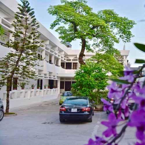 EXTERIOR_BUILDING Khách Sạn Dệt