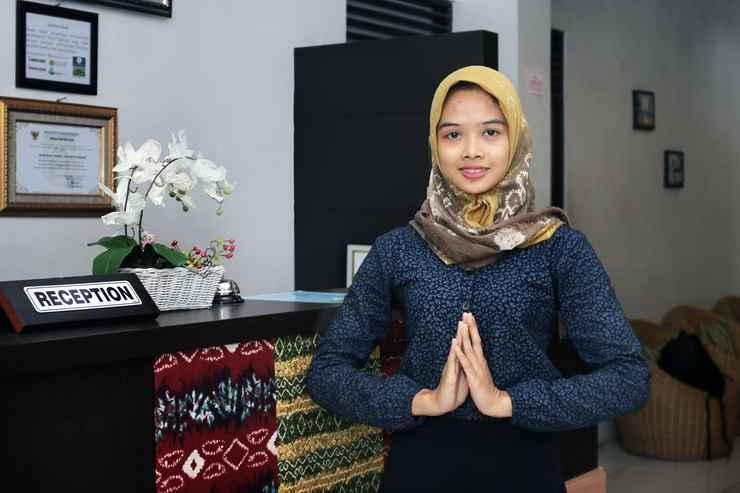 LOBBY Airy Syariah Pangeran Suriansyah Ujung 17 Banjarbaru