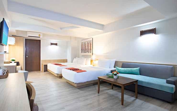 Villa Cha-Cha Krabi Beachfront Resort Krabi - Twin Dengan Balkon