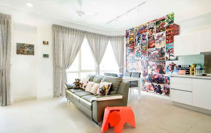 Afiniti Residences by OKGOSTAY Johor - Superior Queen One Bedroom Apartment