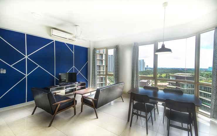 Afiniti Residences by OKGOSTAY Johor - Family Studio Apartment