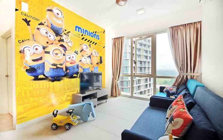Afiniti Residences by OKGOSTAY Johor - Two Bedroom Apartment (Yellow)