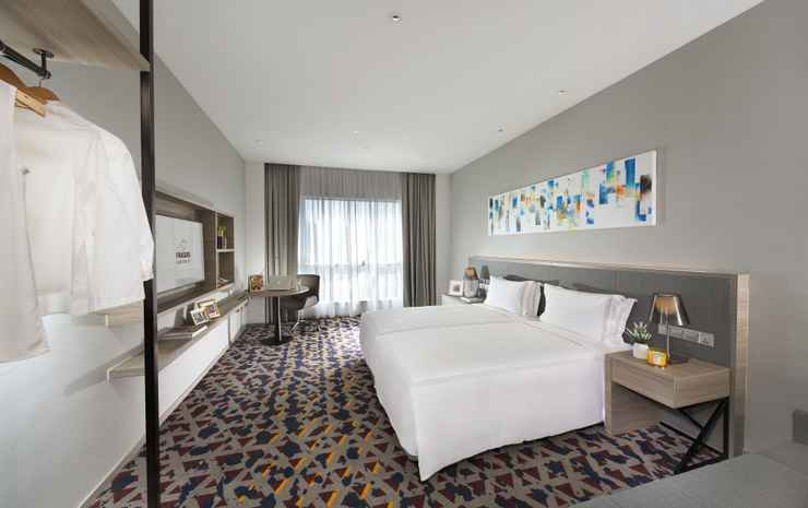 Capri by Fraser Johor Bahru  Johor - Studio Deluxe Twin Sea View (Room only for 3 person)