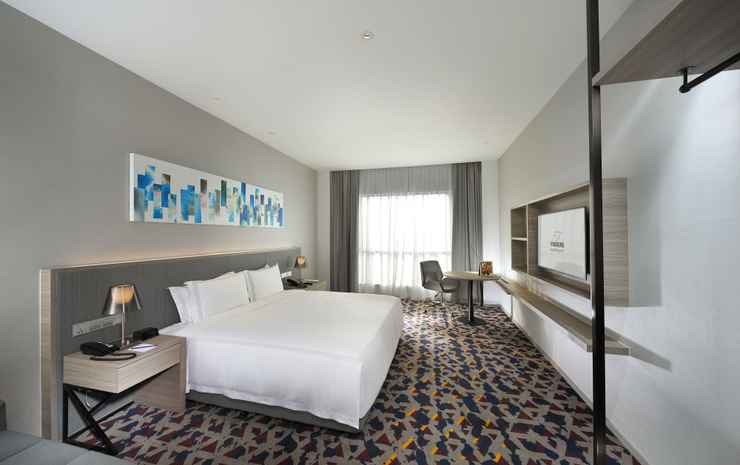 Capri by Fraser Johor Bahru  Johor - Studio Deluxe King Sea View (Room only for 3 person)