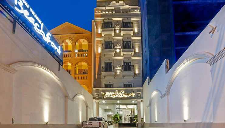 EXTERIOR_BUILDING Thu Trang Beachfront Hotel