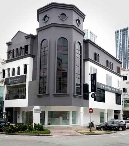 EXTERIOR_BUILDING H Boutique Hotel Xplorer Kota Damansara